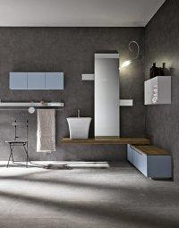 Комплект мебели в ванную № 45