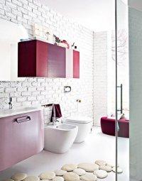 Комплект мебели в ванную № 68
