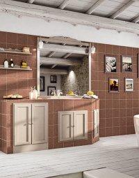 Комплект мебели в ванную № 9